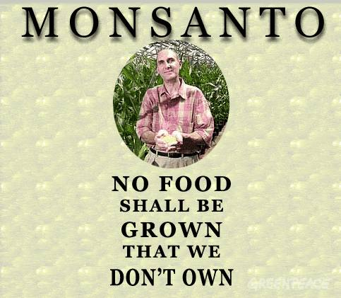 Monsanto no food