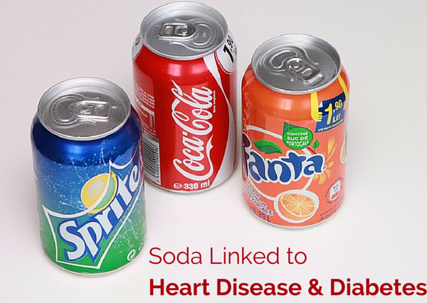 Soda Linked to Numerous Health Risks Including Heart Disease & Diabetes