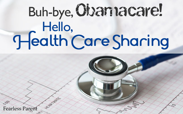 Buh-bye, Obamacare! Hello, Health Care Sharing